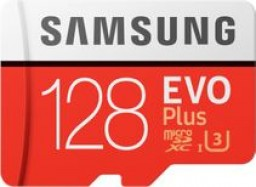 Карта памяти Samsung 128GB EVO plus (MB-MC128HARU)